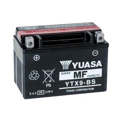 MC-batteri YUASA YTX9-BS 8Ah i gruppen BATTERIER / BIL & MC / MC BATTERIER hos TH Pettersson AB (105-YTX9-BS)