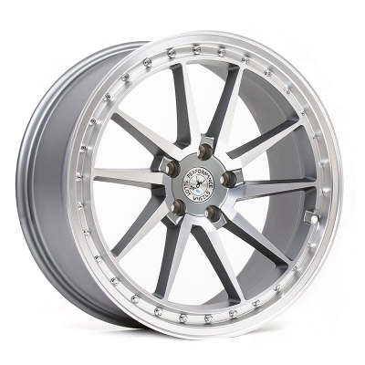 59° North Wheels S-001  8,5x19 5x108 ET38 CB 67,1 Wheel Matte Gunmetal/Matte Polished i gruppen FÄLGAR / TILLVERKARE / VARUMÄRKEN / 59° North Wheels hos TH Pettersson AB (206-00119855108)