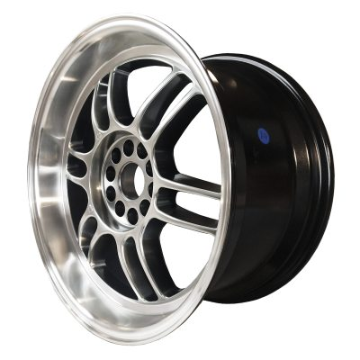 59° North Wheels D-006  9,5x18 5x114/5x120 ET20 CB 73,1 Wheel HyperBlack/Polished Lip i gruppen FÄLGAR / TILLVERKARE / VARUMÄRKEN / 59° North Wheels hos TH Pettersson AB (206-00618955114120)
