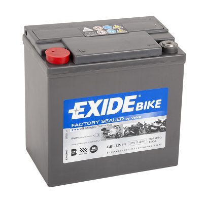 MC-batteri 80014 EXIDE MC GEL12-14 14Ah 150A(EN) i gruppen BATTERIER / BIL & MC / MC BATTERIER hos TH Pettersson AB (32-80014)