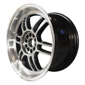 59° North Wheels D-006  8,5x18 5x114/5x120 ET35 CB 73,1 Wheel HyperBlack/Polished Lip
