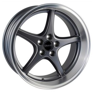 Ocean Wheels MK18 Antracit 8,5x18 5x108 ET6 65,1