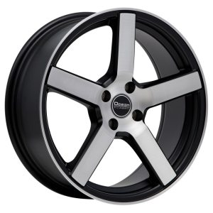 Ocean Wheels Cruise Black Polished 8,5x19 5x108 ET45 72,6