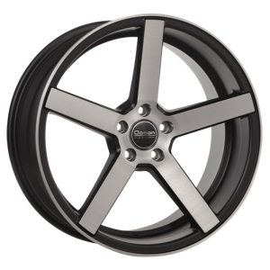 Ocean Wheels Cruise Concave Black Polished 8,5x19 5x108 ET35 72,6