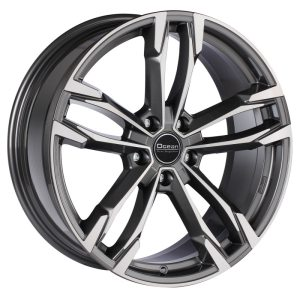 Ocean Wheels F5 Antracit Polished 9,5x19 5x112 ET39 66,5