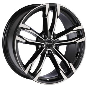 Ocean Wheels F5 Black Polished 9,5x19 5x112 ET39 66,5