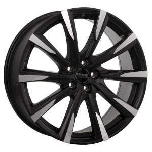 Ocean Wheels Mistral II Black Matt Polished 7,5x17 5x108 ET45 63,4