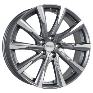 Ocean Wheels Mistral II Antracit Matt Polished 8,0x19 5x108 ET50 63,4