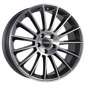 Ocean Wheels Pontos Antracit Polished 8,0x18 5x112 ET45 66,6