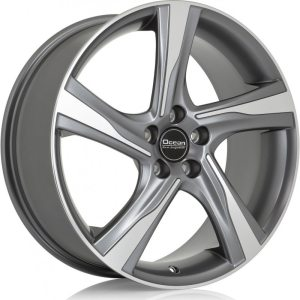 Ocean Wheels Storm Antracit Polished 8,5x20 5x108 ET50 67,1
