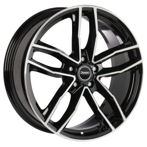 Ocean Wheels Trend Black Polished 8,0x18 5x112 ET35 66,5