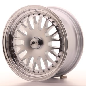 Japan Racing JR10 15x8 ET20 BLANK Machined Silver