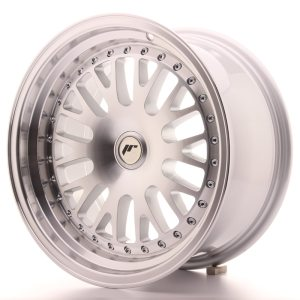 Japan Racing JR10 16x9 ET10-20 BLANK Machined Silver