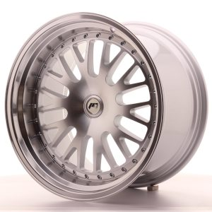 Japan Racing JR10 19x11 ET15-30 BLANK Machined Silver