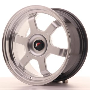 Japan Racing JR12 16x8 ET20-22 BLANK Hyper Silver