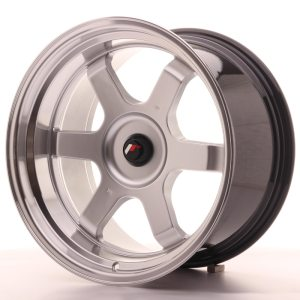 Japan Racing JR12 18x10 ET20-22 BLANK Hyper Silver