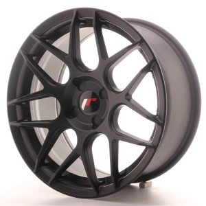 Japan Racing JR18 17x8 ET35 5H BLANK Matt Black