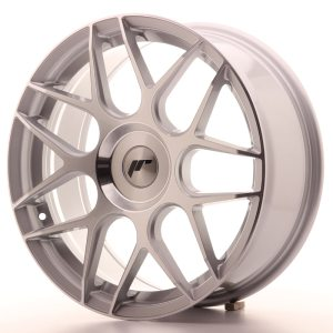 Japan Racing JR18 18x7,5 ET35-40 BLANK Silver Machined