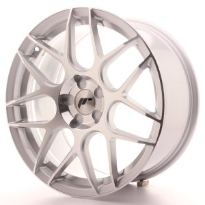Japan Racing JR18 18x8,5 ET35-45 5H BLANK Silver Machined