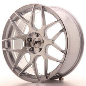 Japan Racing JR18 19x8,5 ET20-40 5H BLANK Silver Machined