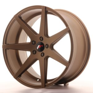 Japan Racing JR20 20x11 ET20-30 5H BLANK Matt Bronze
