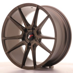 Japan Racing JR21 17x8 ET35 BLANK Matt Bronze