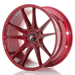 Japan Racing JR21 19x8,5 ET35-40 5H BLANK Platinum Red