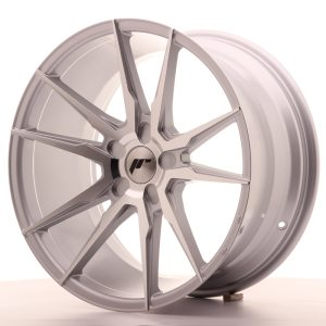 Japan Racing JR21 19x8,5 ET35-40 5H BLANK Silver Machined