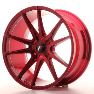 Japan Racing JR21 20x10 ET20-40 5H BLANK Platinum Red