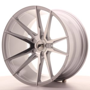 Japan Racing JR21 20x11 ET30-50 5H BLANK Silver Machined