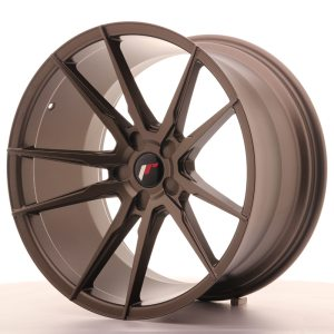 Japan Racing JR21 20x8,5 ET20-40 5H BLANK Matt Bronze