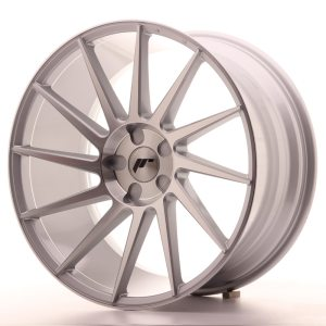 Japan Racing JR22 20x11 ET20-40 5H BLANK Silver Machined