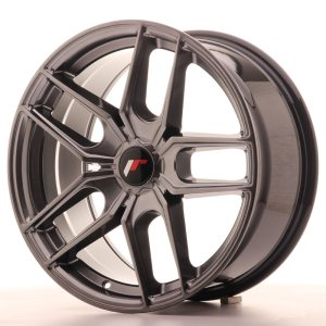 Japan Racing JR25 18x9,5 ET20-40 5H BLANK Hyper Black