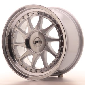Japan Racing JR26 17x9 ET20-35 BLANK Machined Silver