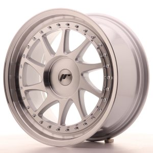 Japan Racing JR26 18x8,5 ET20-40 BLANK Silver Machined