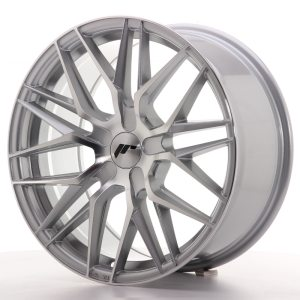 Japan Racing JR28 18x8,5 ET20-40 5H BLANK Silver Machined