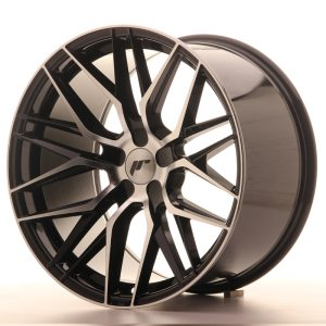 Japan Racing JR28 19x10,5 ET20-40 5H BLANK Machined Black