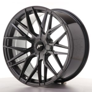 Japan Racing JR28 20x10 ET20-40 5H BLANK Hyper Black