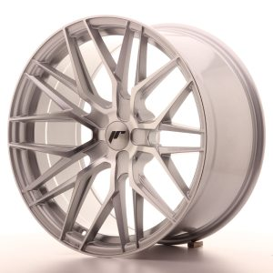Japan Racing JR28 20x10 ET20-40 5H BLANK Silver Machined