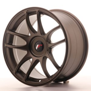 Japan Racing JR29 17x9 ET20-35 BLANK Matt Bronze