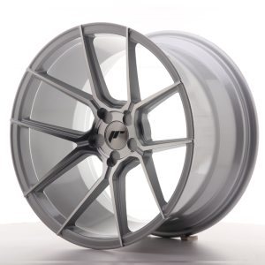 Japan Racing JR30 19x11 ET15-40 5H BLANK Silver Machined