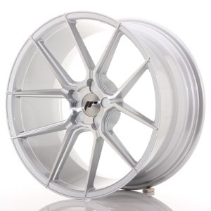 Japan Racing JR30 20x10 ET20-40 5H BLANK Silver Machined