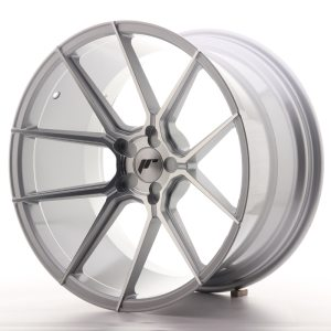 Japan Racing JR30 20x11 ET20-30 5H BLANK Silver Machined