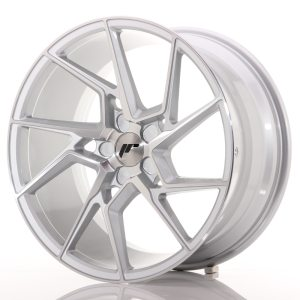 Japan Racing JR33 20x10 ET20-40 5H BLANK Silver Machined