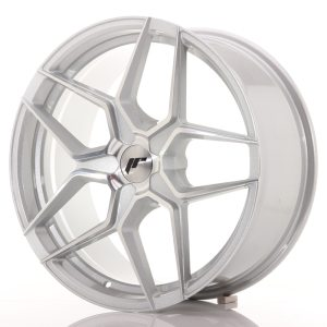 Japan Racing JR34 19x8,5 ET20-40 5H BLANK Silver Machined