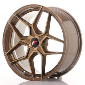 Japan Racing JR34 20x10 ET20-40 5H BLANK Platinum Bronze