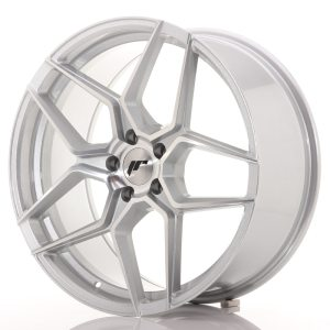 Japan Racing JR34 20x9 ET40 5x112 Silver Machined Face
