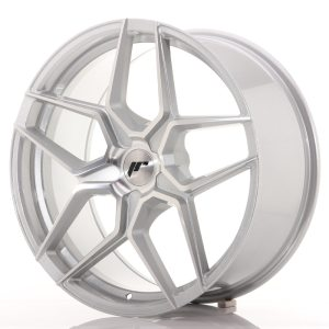 Japan Racing JR34 20x9 ET20-40 5H BLANK Silver Machined