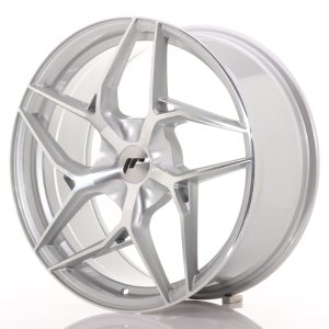 Japan Racing JR35 19x8,5 ET35-45 5H BLANK Silver Machined