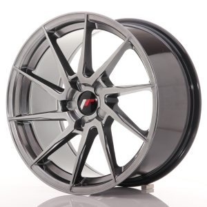 Japan Racing JR36 18x9 ET20-48 5H BLANK Hyper Black